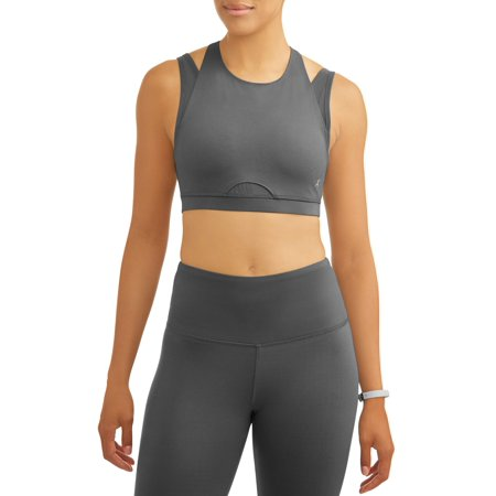 Women's Premium Active High Impact Double Layer Sports Bra with Back Detail