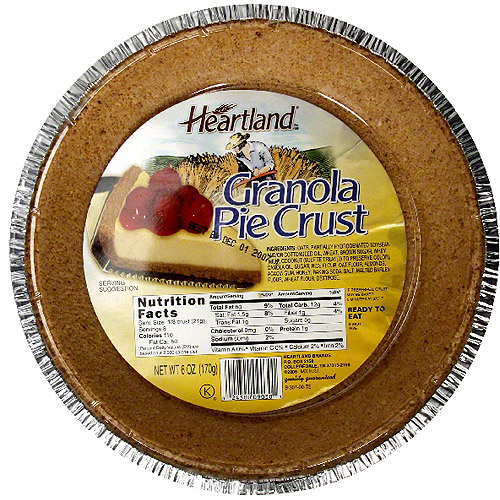 Heartland Granola Pie Crust, 6 oz (Pack of 12)
