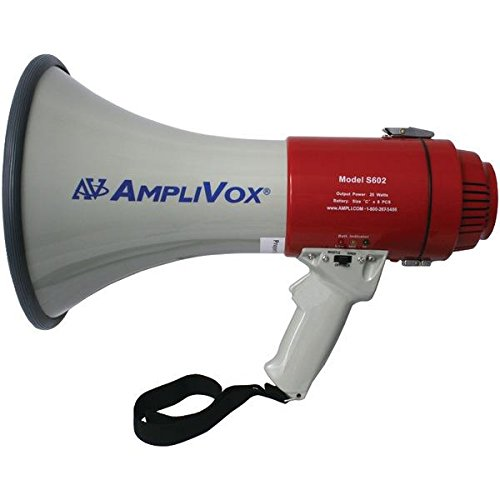 Amplivox S602r Mity-meg 25-watt Megaphone 25 W Amplifier (s602r) by Amplivox