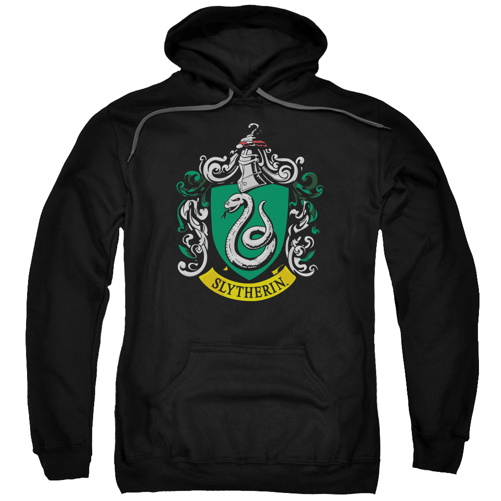 Harry Potter Slytherin Crest Mens Pullover Hoodie