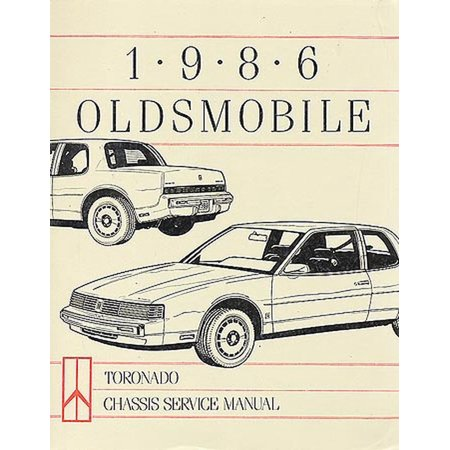 Oldsmobile Toronado Chassis (Bishko OEM Repair Maintenance Shop Manual Bound for Oldsmobile Toronado - Chassis 1986)