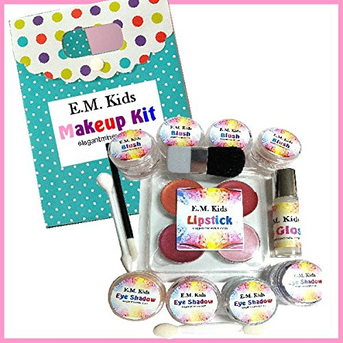 Kids Natural Makeup Kit - all Natural Non Toxic by Elegant Minerals