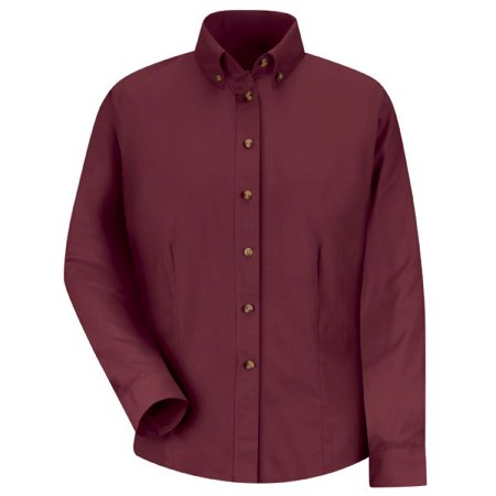 Red Kap Mens Snap (RED KAP Women's Long Sleeve Meridian Performance Twill Shirt - 1T11BU)