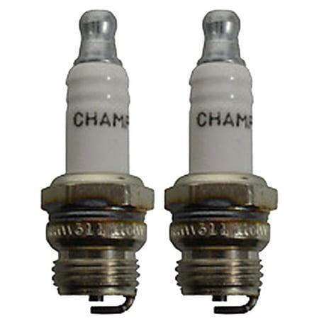 Champion DJ7J-2PK Copper Plus Small Engine Spark Plug Stock # 850 (2 Pack) ()