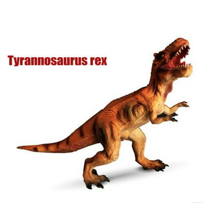 Jurassic Dinosaur Dinosaur Model Learning Toys Realistic T Rex Toy - Blow Up T Rex