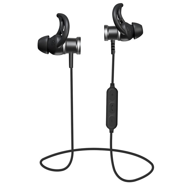 Magnetic Wireless Bluetooth Earbuds With Mic Microphone Super Bass Stereo Sports In Ear Earphone Headphone Walmart Com Walmart Com