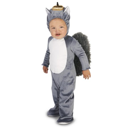 Grey Squirrel Toddler Costume - Squirell Costume