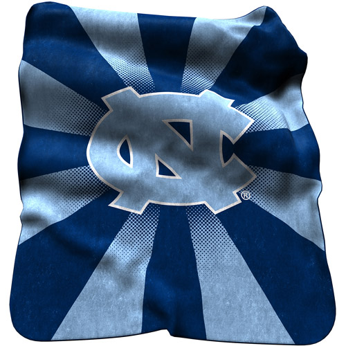 Logo Chair NCAA North Carolina Raschel Throw