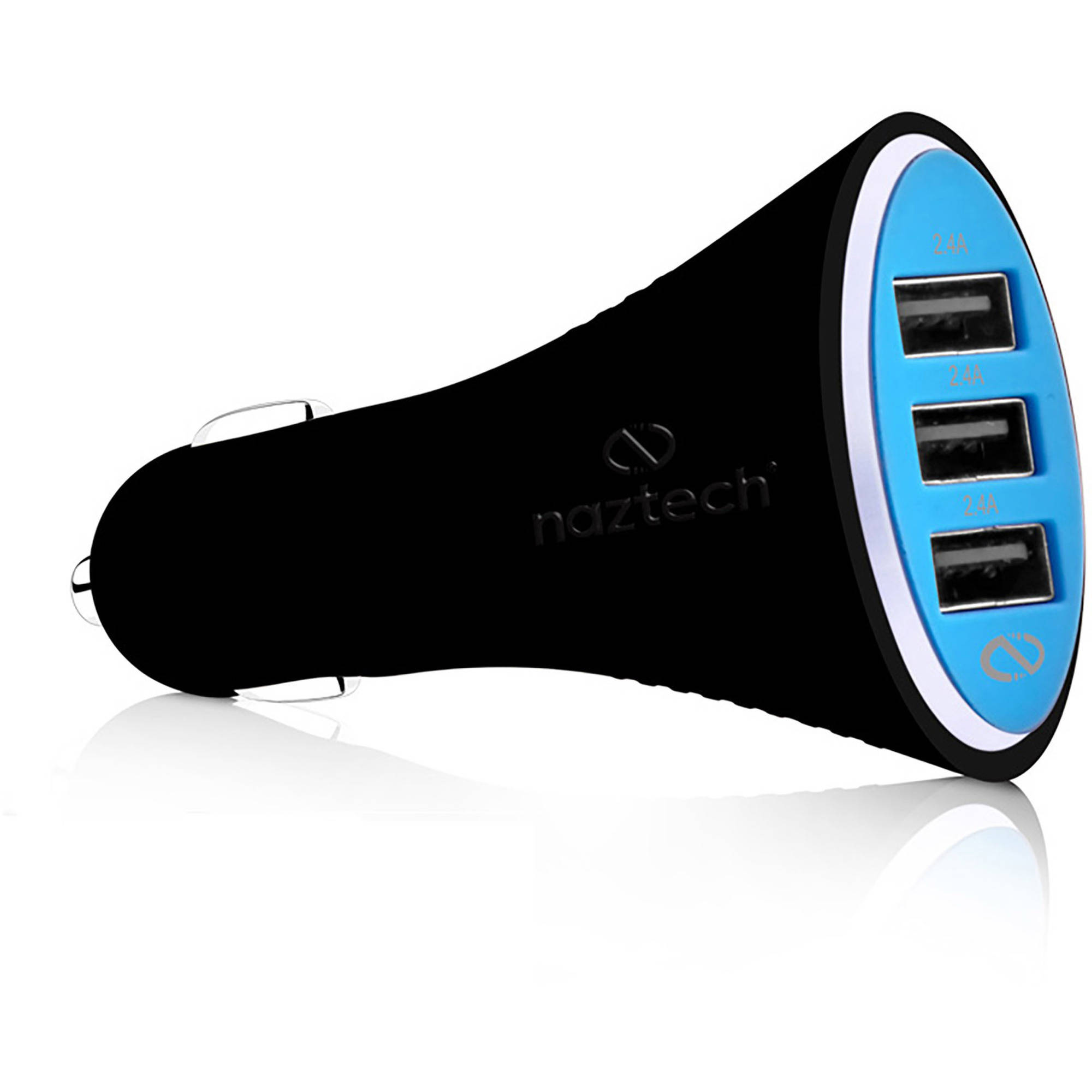 Naztech Turbo T3 7.2A Micro USB Vehicle Charger