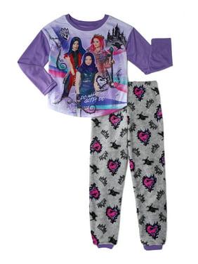 The Descendants Girl's Pajamas, 2-Piece Set