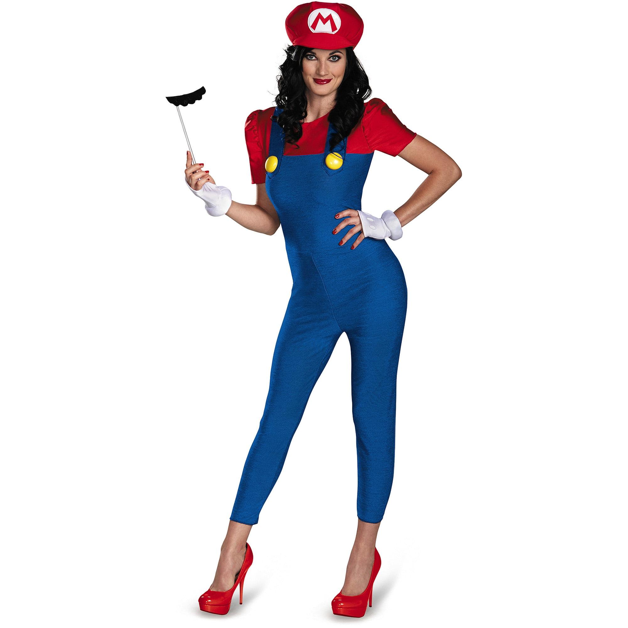 Mario Deluxe Women's Adult Halloween Costume