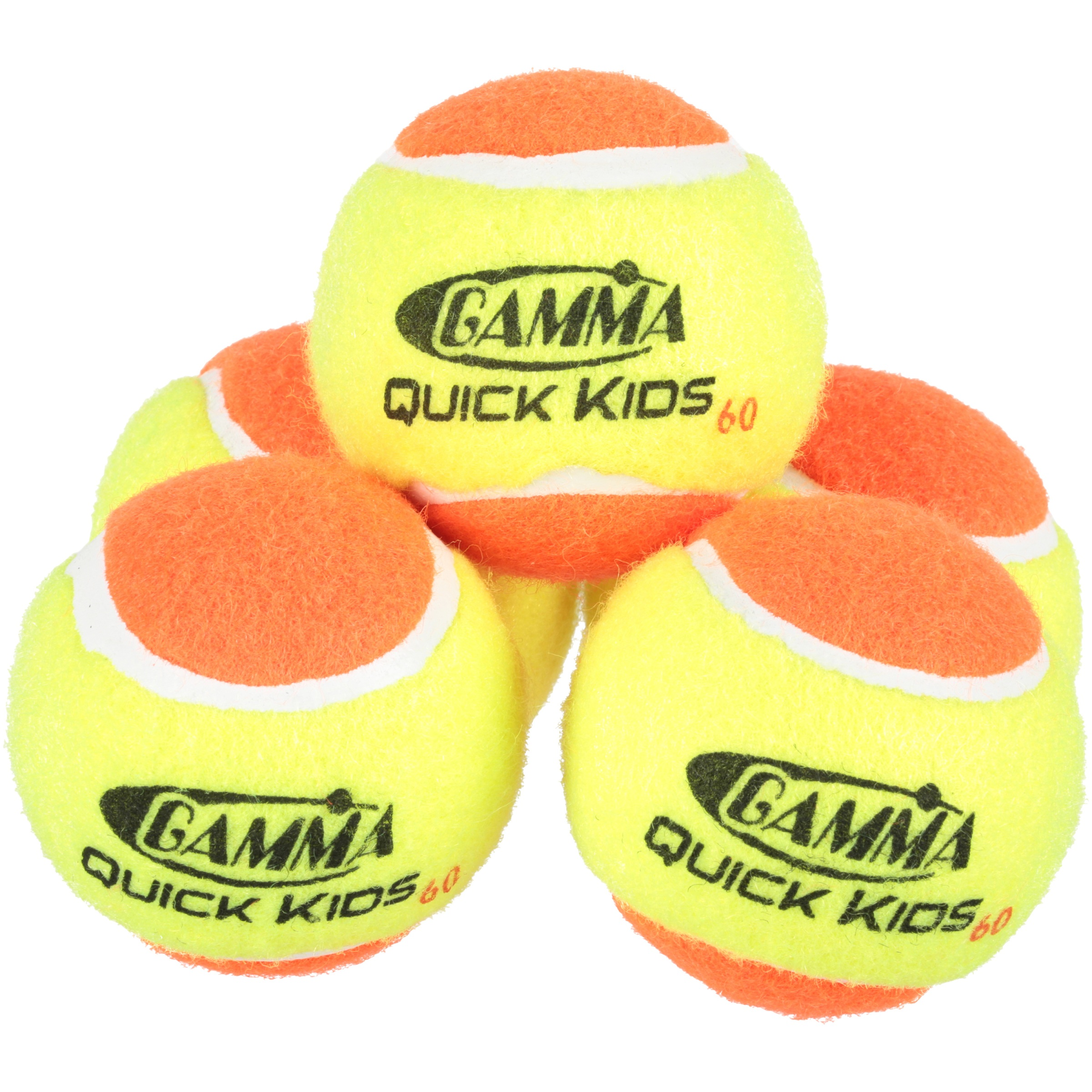 Click here to buy Gamma Quick Kids 60 Tennis Balls 48 ct Pail by Gamma.