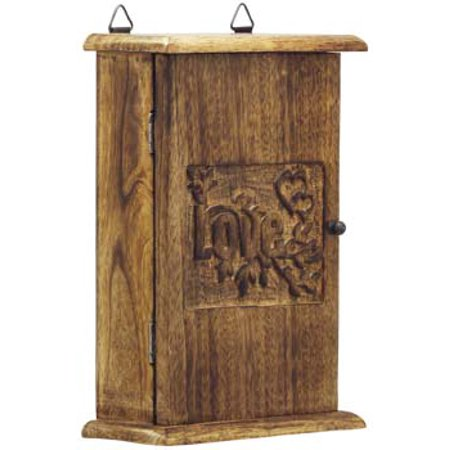 Today Offers - Love Key Box Holder - Wooden Vintage Look Wall Mount Key  Cabinet / - Today Offers - Love Key Box Holder - Wooden Vintage Look Wall Mount