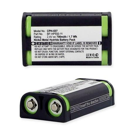 Empire CPH-537 2.4V Sony BP-HP550-11 Nickel Metal Hydride Battery 700 mAh - 1.68 watt