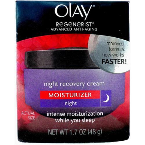 OLAY Regenerist Advanced Anti-Aging Night Recovery Cream 1.70 oz (Pack of 6)