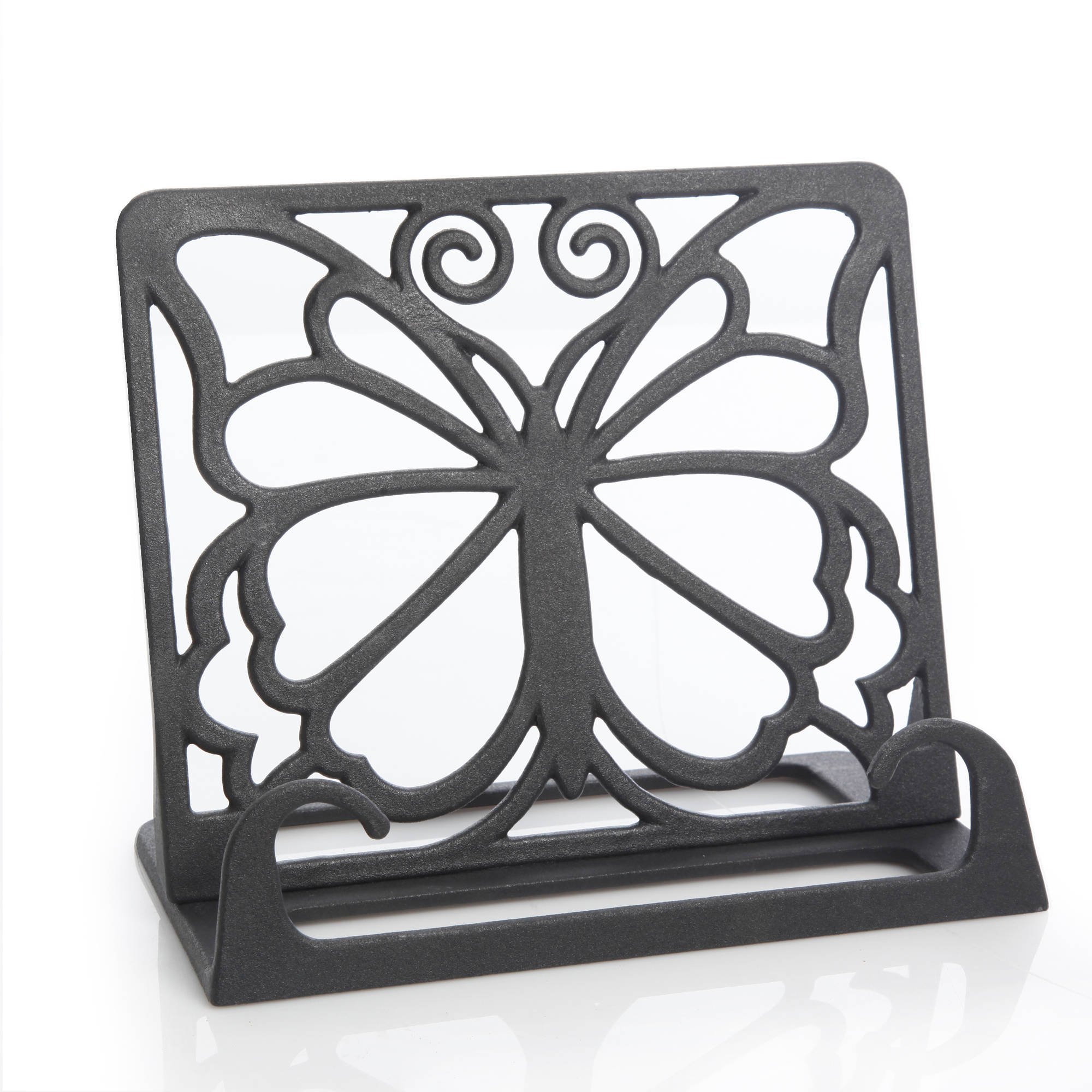 The Pioneer Woman Timeless Beauty Cast Iron Cookbook Holder, Black