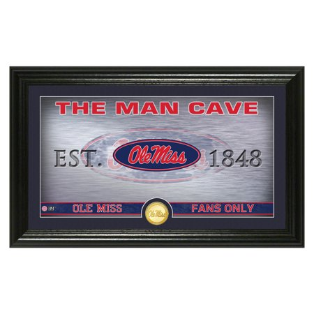 Ole Miss Rebels Highland Mint Man Cave Pano Photomint - No -