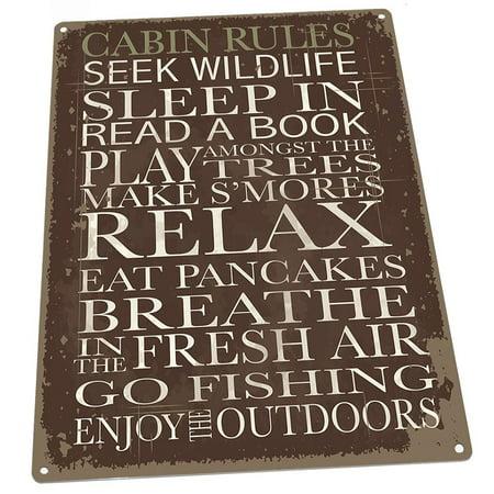 Cabin Rules 9