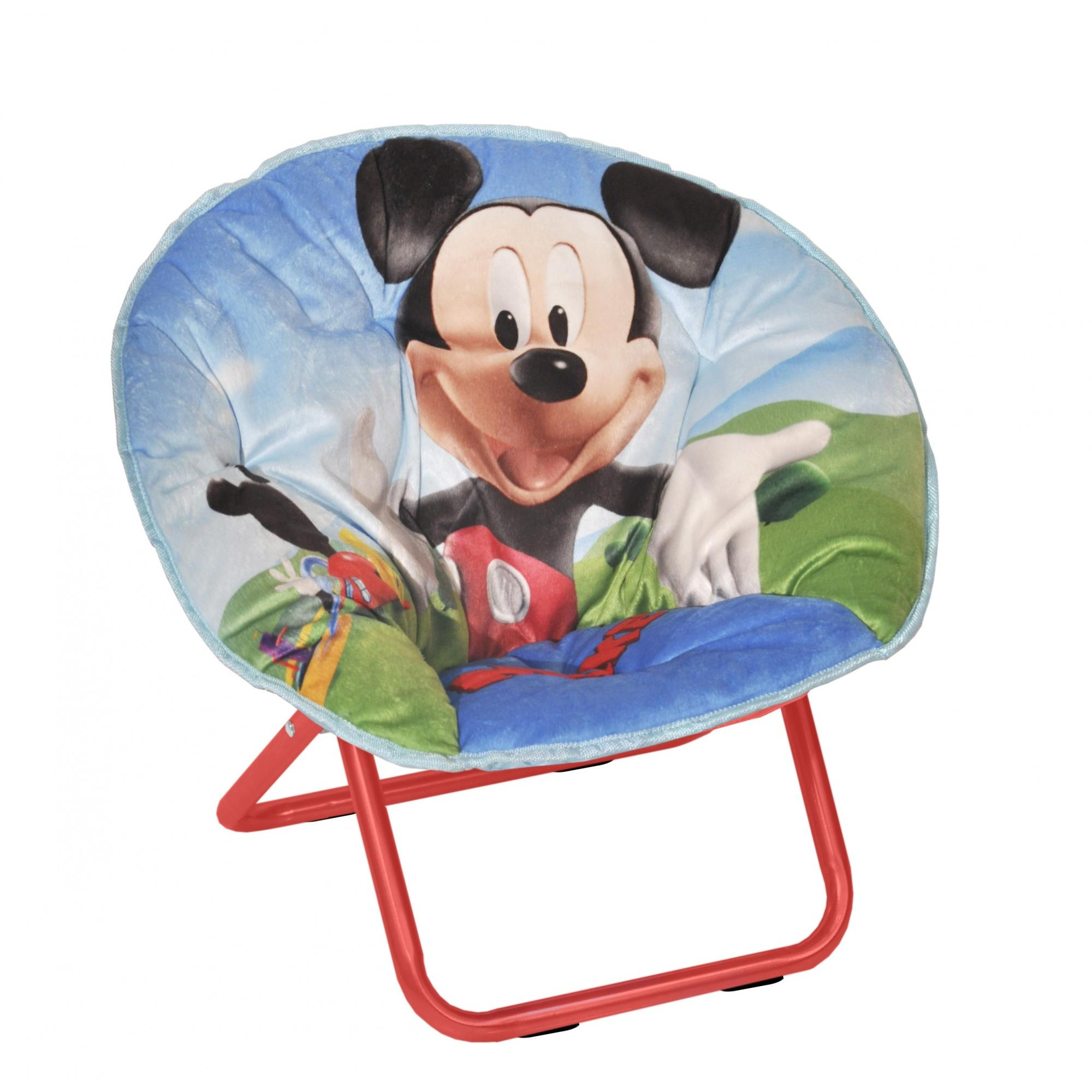 mickey mouse mini collapsible nbsp saucer chair walmart com