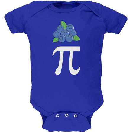 Halloween Math Pi Costume Blueberry Day Soft Baby One Piece (Math Halloween Costume)