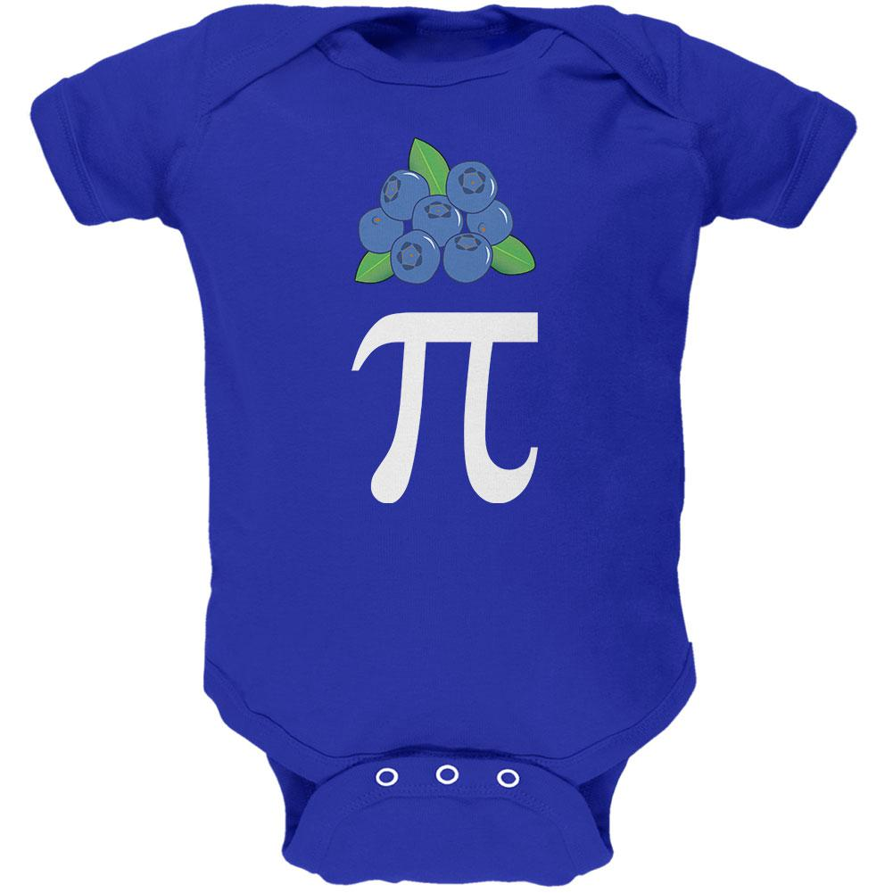 Halloween Math Pi Costume Blueberry Day Soft Baby One Piece