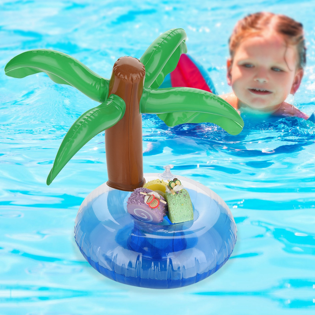 EECOO Fruit-shaped Inflatable Floating Drink Cup Holder for Pool Beach Party Water Fun Drink Cup Holder Floating Drink Cup Holder