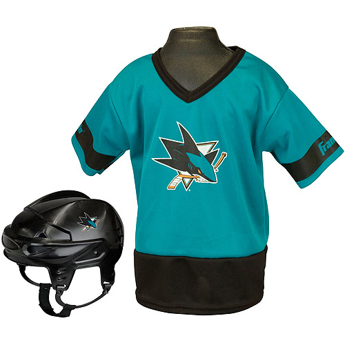 Franklin Sports NHL Kid's Team Set, San Jose Sharks