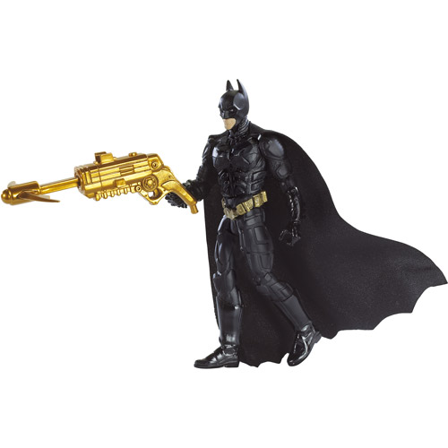 Mattel The Dark Knight Grapnel Launcher Batman poseable action figure by