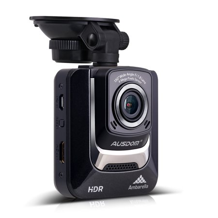 Ausdom Ad282 Dash Cam 2 4 Lcd Car Dvr Video Recorder With 1296 P