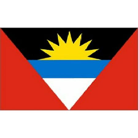 3x5 Antigua and Barbuda Flag Caribbean Island Banner Islands (Antigua Flag)
