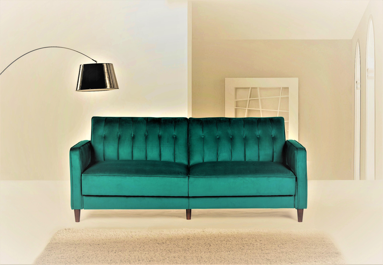 US Pride Furniture Mariposa Luxury Mid-Century Contemporary Sofa Bed ...