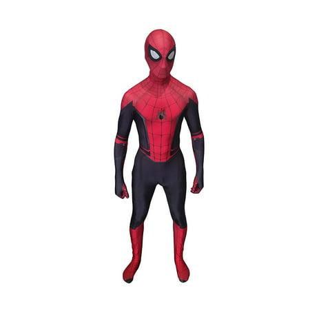 Cosplay Life Spider-Man Far From Home Cosplay Costume | Lycra Fabric Bodysuit Superhero Halloween Zentai Suit