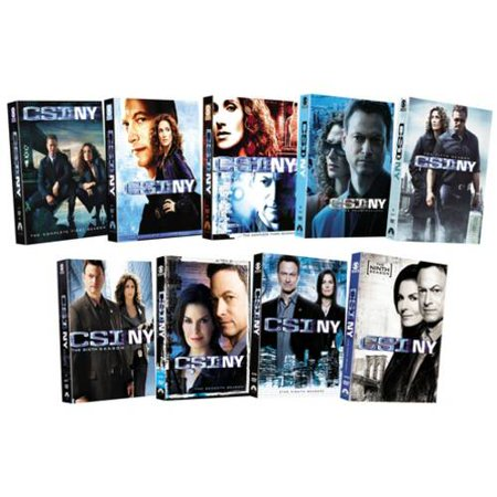 Csi  Ny   The Complete Series  Widescreen