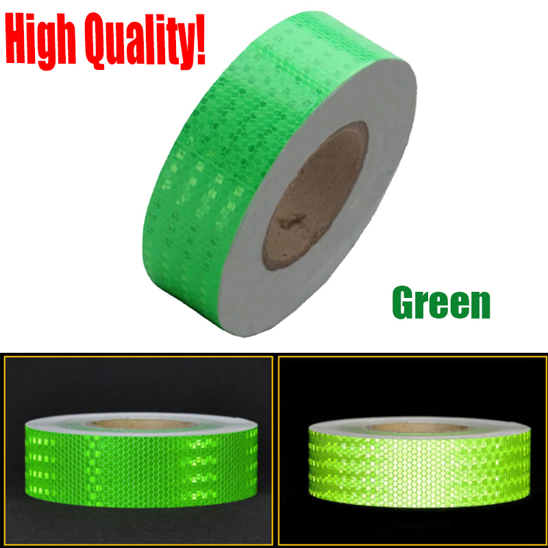 """*Reflective Conspicuity Tape 2/""""x150/' Warning Sign Safety Car Truck Boat Yellow"""