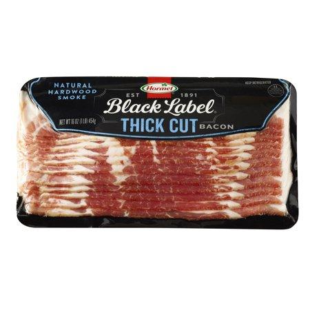 Hormel Black Label Bacon Thick Cut, 16.0 OZ - Walmart.com
