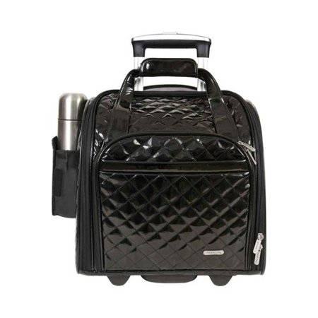 Women's Travelon Wheeled Underseat Carry-On with Back-Up Bag