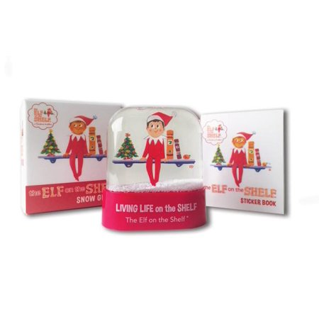 The Elf on the Shelf Snow Globe](If I Lived In A Snowglobe)