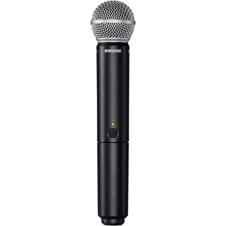 Shure BLX2/SM58 Handheld Wireless Transmitter with SM58 Capsule Band (Shure Sm58 Dynamic Vocal Microphone)