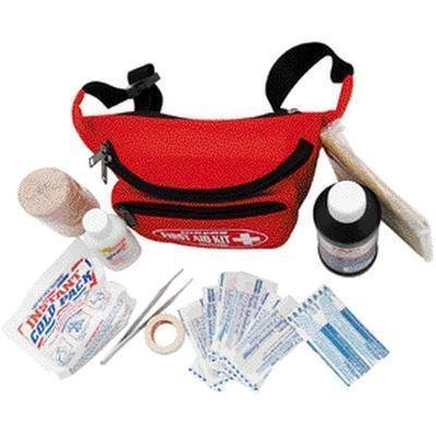 First Aid Kit Hikers Fanny Pack  The Hikers First Aid Kit Is A Three  3  Compartment Fanny Pack That Offers Easy Access To The Contents  By Elite First Aid