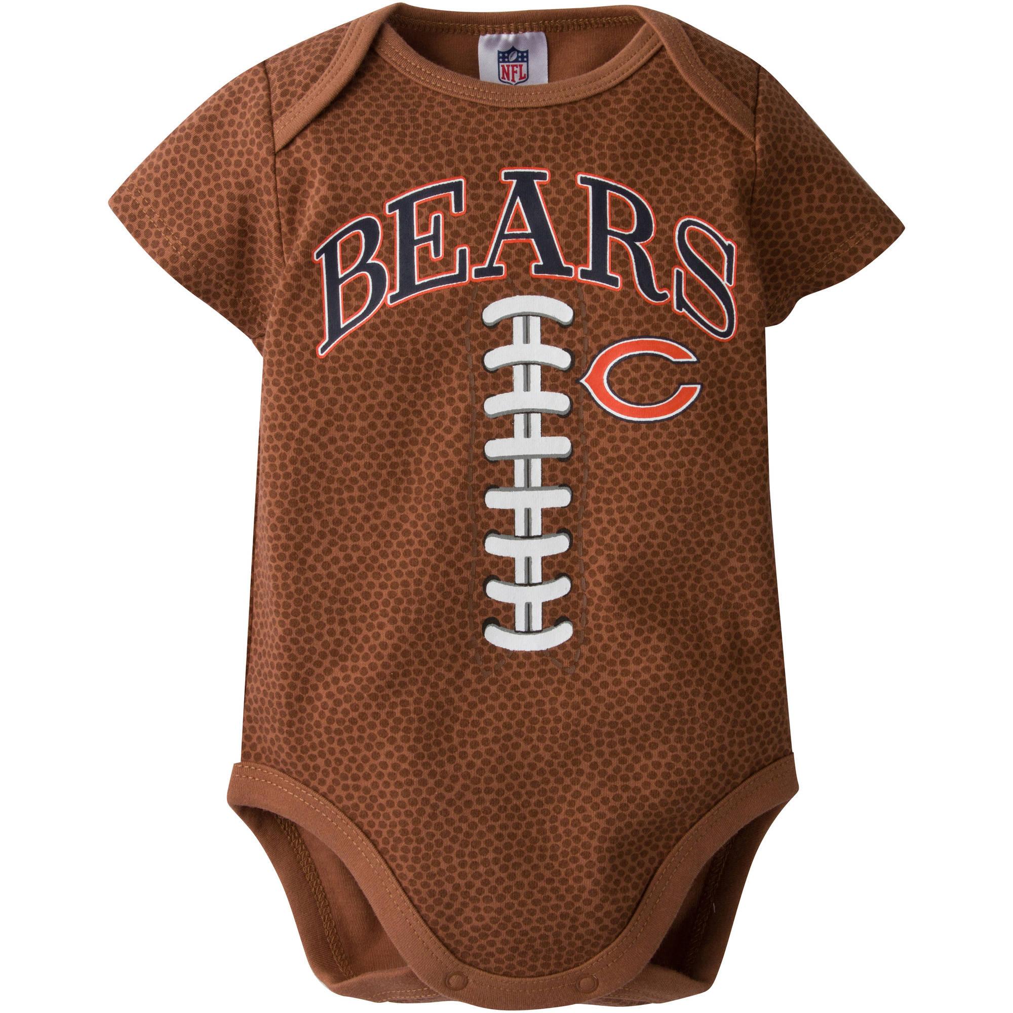 NFL Chicago Bears Baby Boys Football Print Bodysuit
