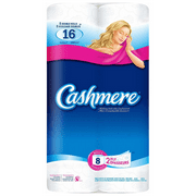 Cashmere 2-Ply Bathroom Tissue, 8 Double Rolls per Pack