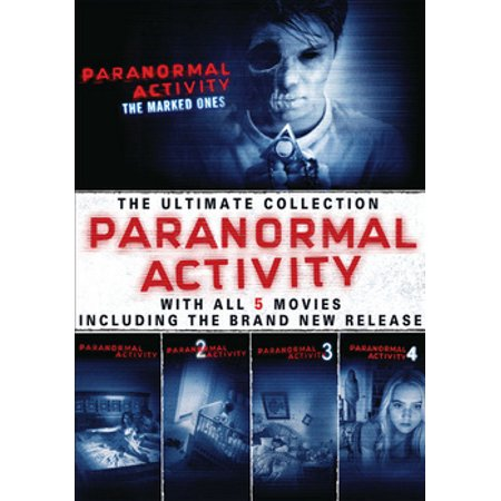 Paranormal Activity: 5 Movie Collection (DVD) (Best Paranormal Tv Shows 2019)