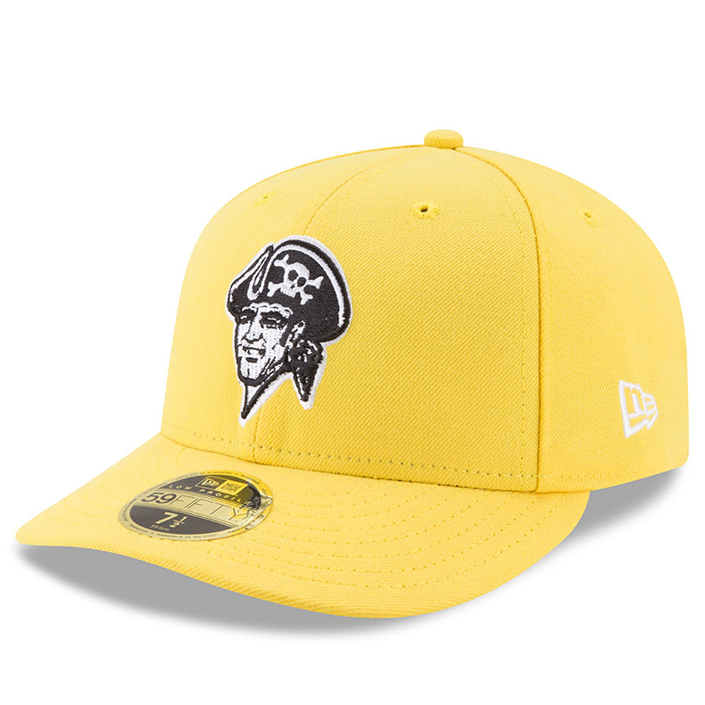 Pittsburgh Pirates New Era 2017 Players Weekend Low Profile 59FIFTY Fitted Hat - Yellow