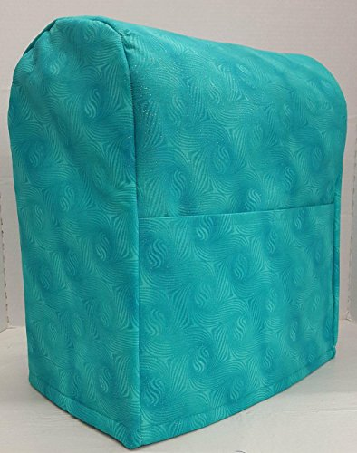 Teal Sparkle Kitchenaid Stand Mixer Cover Teal Sparkle 4