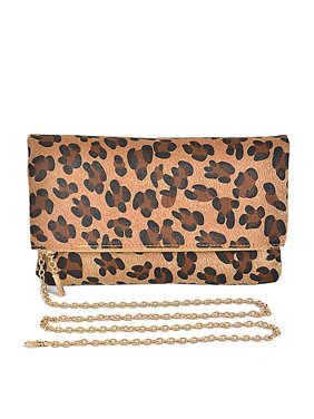 6550a56fd Product Image Free Shipping Women Fold Style Leopard Print Fashion Clutch  Bags PPC3675