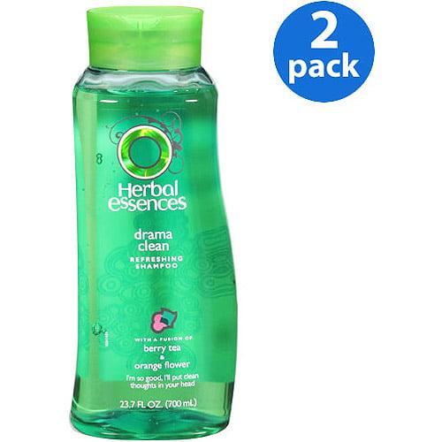 Herbal Essence Drama Clean Shampoo, 23.7 fl oz (Pack of 2)