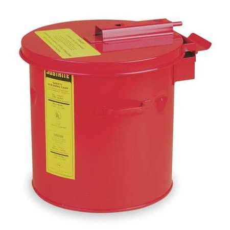 Cleaning/Dip Tank, Red ,Justrite, 27608