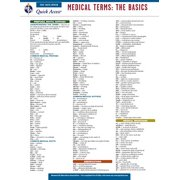 Medical Terms: The Basics - Rea's Quick Access Reference Chart