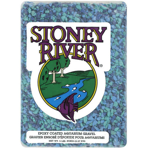 Stoney River: Epoxy Coated Aquarium Gravel, 5 Lb