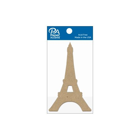 Chip Shape 8Pc Eiffel Tower Natural - image 1 of 1